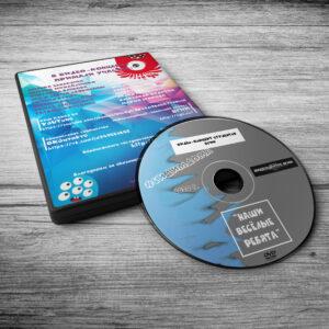 Дизайн-макет коробки и DVD-диска